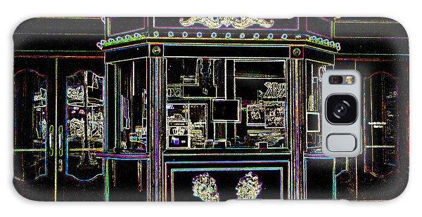 The Tivoli In Neon Galaxy Case by Kelly Awad