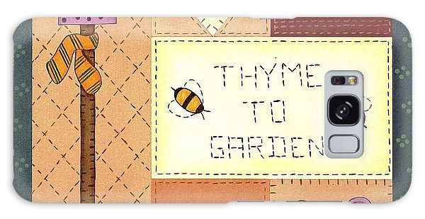 Thyme To Garden Galaxy Case