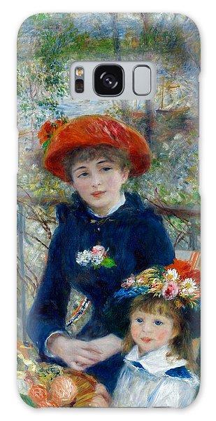 Art Institute Galaxy S8 Case - Two Sisters by Pierre-Auguste Renoir