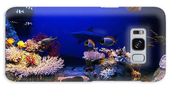 Underwater Scene Galaxy Case