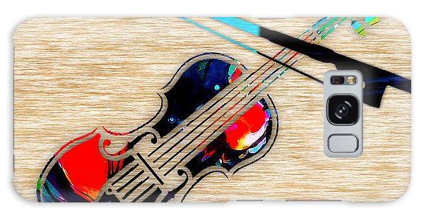 Violin Galaxy Case by Marvin Blaine