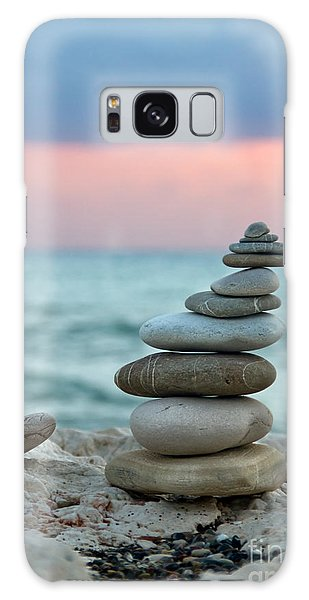 Sea Stacks Galaxy Case - Zen by Stelios Kleanthous