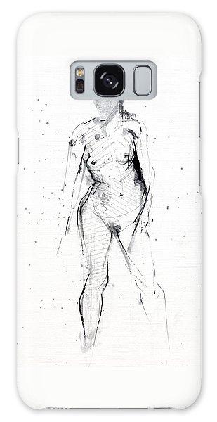 Nudes Galaxy Case - Rcnpaintings.com by Chris N Rohrbach