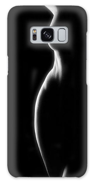 3044 Infinity Line A Nude By Chris Maher 1 To 3 Ratio Galaxy Case