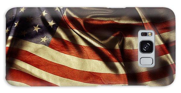 Landmark Galaxy Case - American Flag 51 by Les Cunliffe