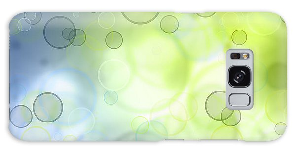 Abstract Circles 44 Galaxy Case