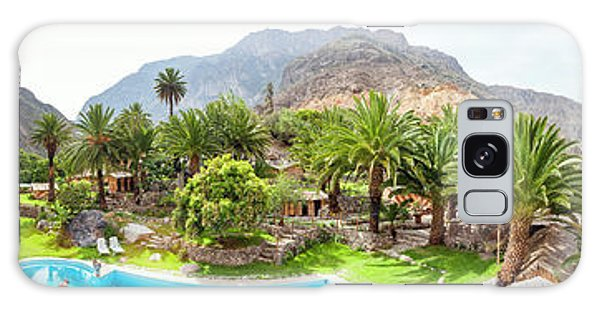 Chasm Galaxy Case - 360 Degree View Of The Oasis by Panoramic Images