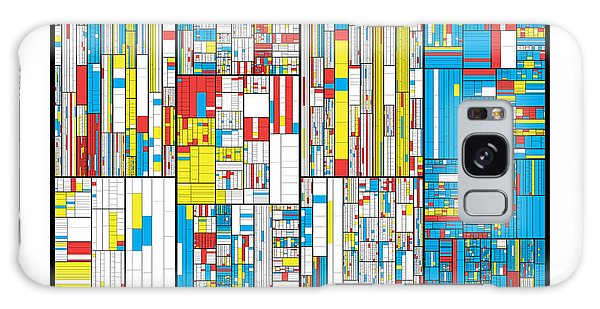 Visualization Galaxy Case - 3628 Digits Of Pi by Martin Krzywinski