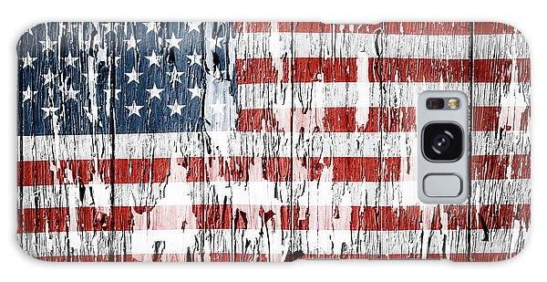Landmark Galaxy Case - American Flag 49 by Les Cunliffe