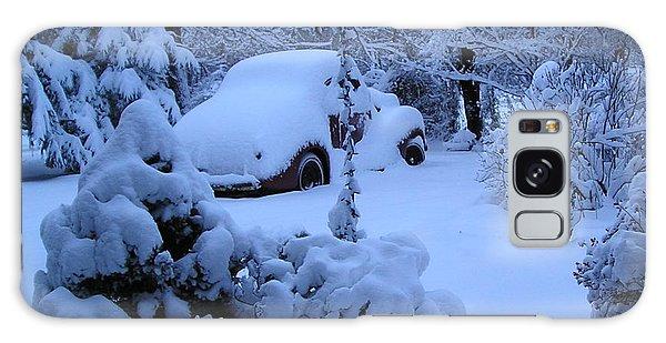 38 Chevy In Snow Galaxy Case