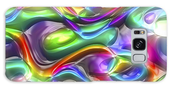 Abstract Series 38 Galaxy Case