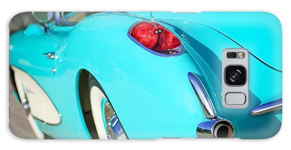 Galaxy Case featuring the photograph 1957 Chevrolet Corvette Taillight by Jill Reger