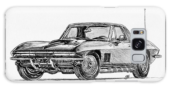 1967 Corvette Galaxy Case by J McCombie