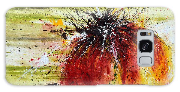 Abstract Flower Galaxy Case by Ismeta Gruenwald