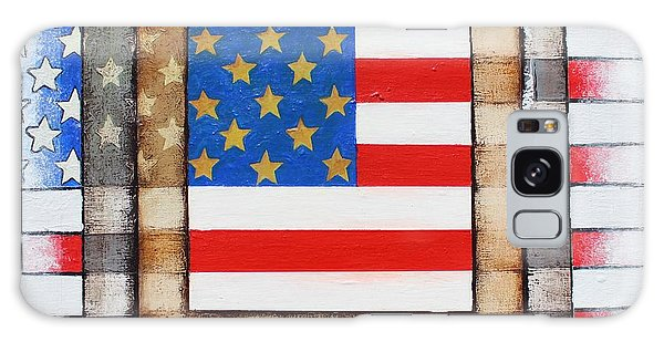 American Flag Galaxy Case by Steve  Hester
