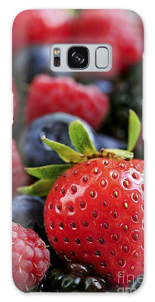 Assorted Fresh Berries Galaxy S8 Case
