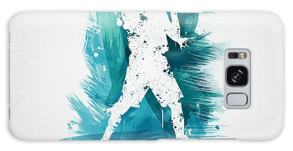Sport Art Galaxy Case - Basketball Player by Aged Pixel