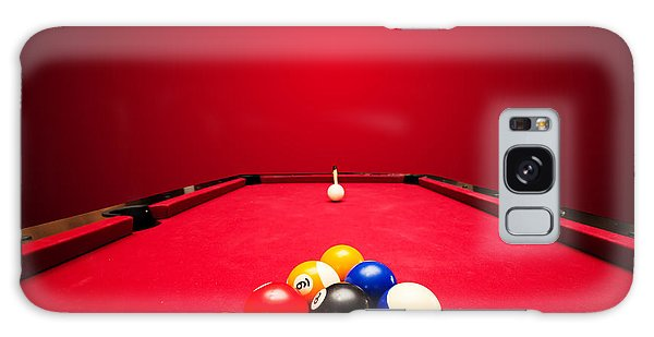 Billards Pool Game Galaxy Case