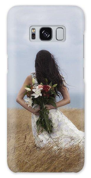 Sea Lily Galaxy Case - Bouquet Of Flowers by Joana Kruse