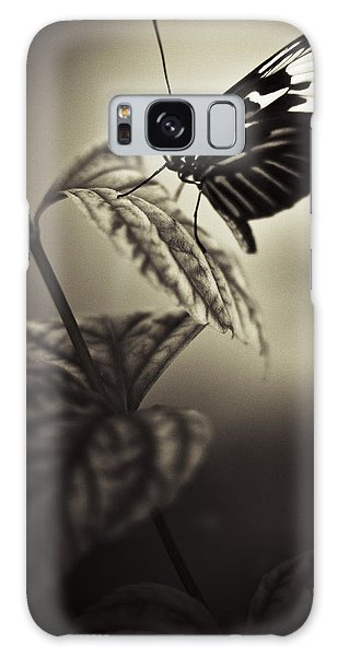 Butterfly Brown Tone Galaxy Case by Bradley R Youngberg
