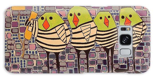 4 Calling Birds Galaxy Case