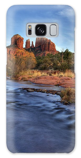 Cathedral Rocks In Sedona Galaxy Case by Alan Vance Ley