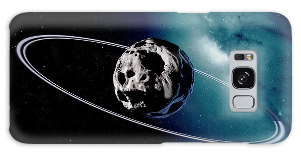 Chariklo Minor Planet And Rings Galaxy Case by Detlev Van Ravenswaay