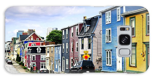 Town Galaxy Case - Colorful Houses In St. John's by Elena Elisseeva