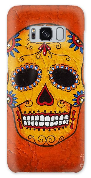Day Of The Dead Galaxy Case by Joseph Sonday
