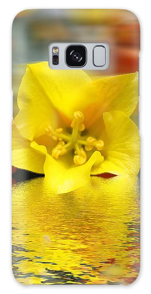 Floral Fractals And Floods Digital Art Galaxy Case