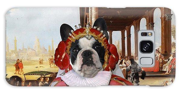French Bulldog Art Canvas Print Galaxy Case