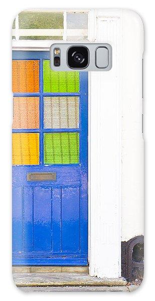 Door Galaxy Case - Front Door by Tom Gowanlock