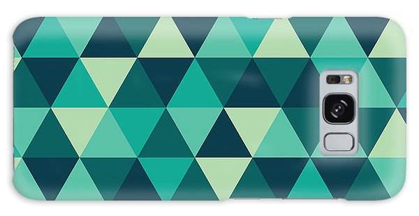 Vector Galaxy Case - Geometric Art by Mike Taylor