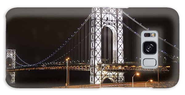 George Washington Bridge On President's Day Galaxy Case