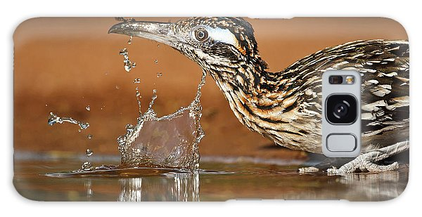 Greater Roadrunner Galaxy Case - Greater Roadrunner (geococcyx by Larry Ditto