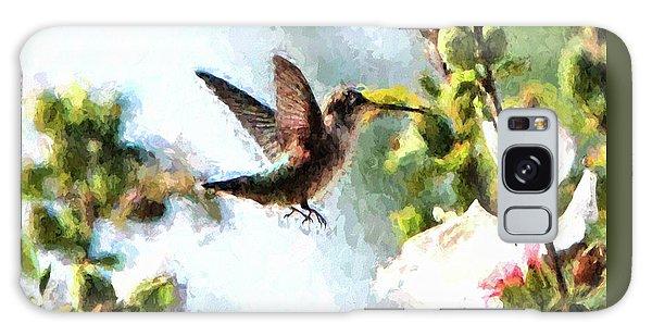 Hummingbird Galaxy Case by John Freidenberg