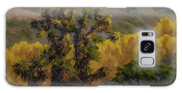 Joshua Trees And Cottonwoods Galaxy Case