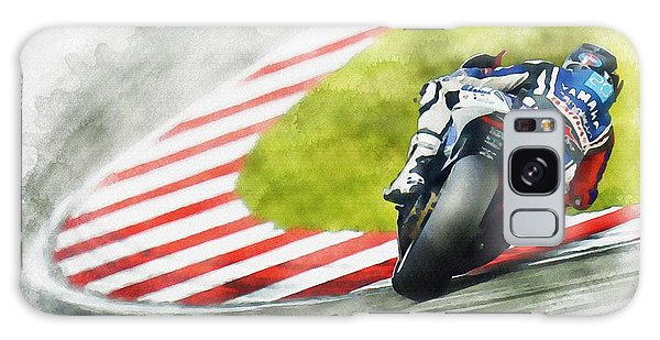 Jorge Lorenzo - Team Yamaha Racing Galaxy Case