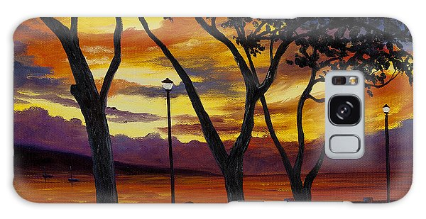 Lahaina Sunset Galaxy Case