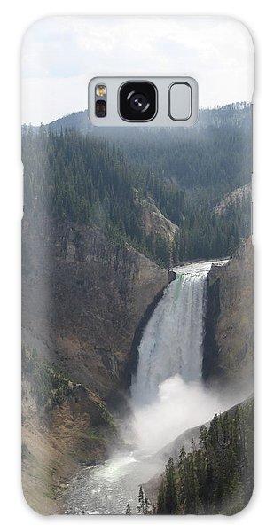 Lower Falls Yellowstone Np Galaxy Case
