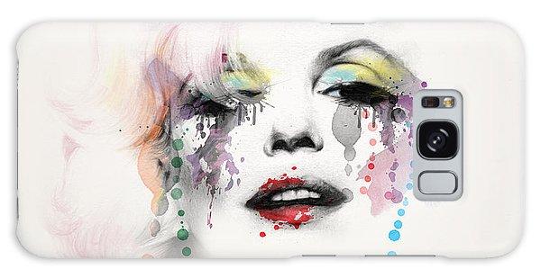 Actor Galaxy Case - Marilyn Monroe by Mark Ashkenazi