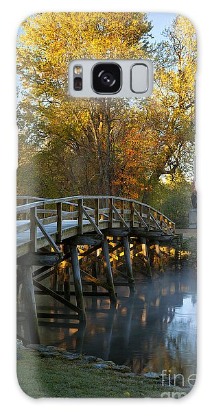 Old North Bridge Concord Galaxy Case