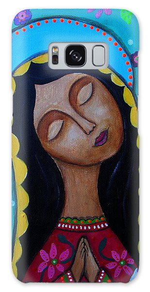 Our Lady Of Guadalupe Galaxy Case by Pristine Cartera Turkus