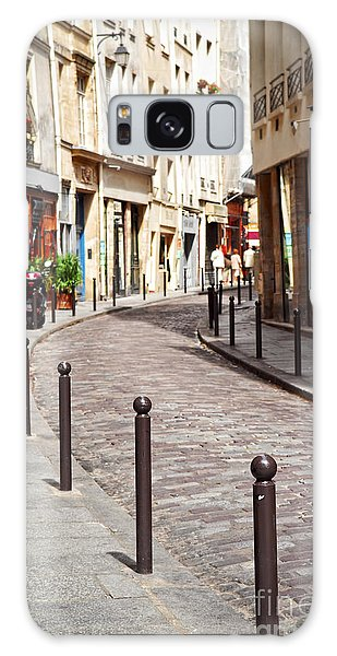 Travel Destinations Galaxy Case - Paris Street by Elena Elisseeva