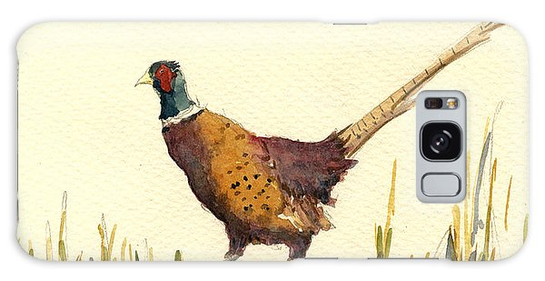 Pheasant Galaxy S8 Case - Pheasant by Juan  Bosco