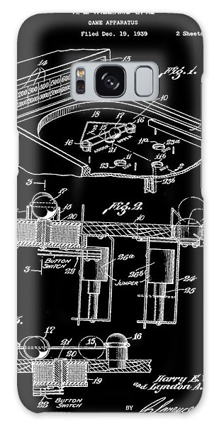 Pinball Machine Patent 1939 - Black Galaxy Case