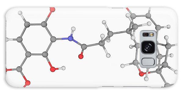 Scientific Illustration Galaxy Case - Platensimycin Drug Molecule by Laguna Design/science Photo Library