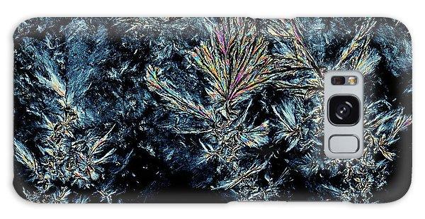 Biomedical Engineering Galaxy Case - Polyethylene Glycol Crystals by Antonio Romero/science Photo Library