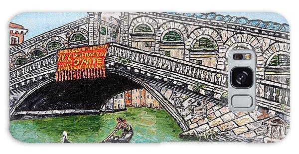Ponte Di Rialto Galaxy Case by Loredana Messina