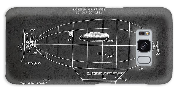 Hot Air Balloons Galaxy Case - Power Driven Balloon Patent by Aged Pixel